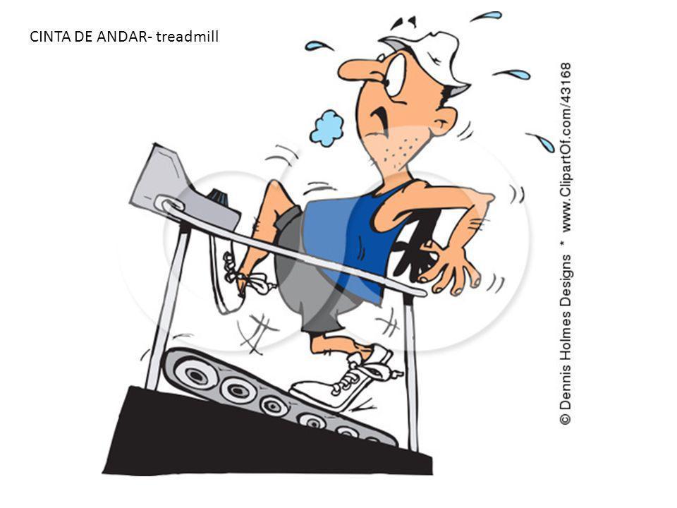 CINTA DE ANDAR- treadmill
