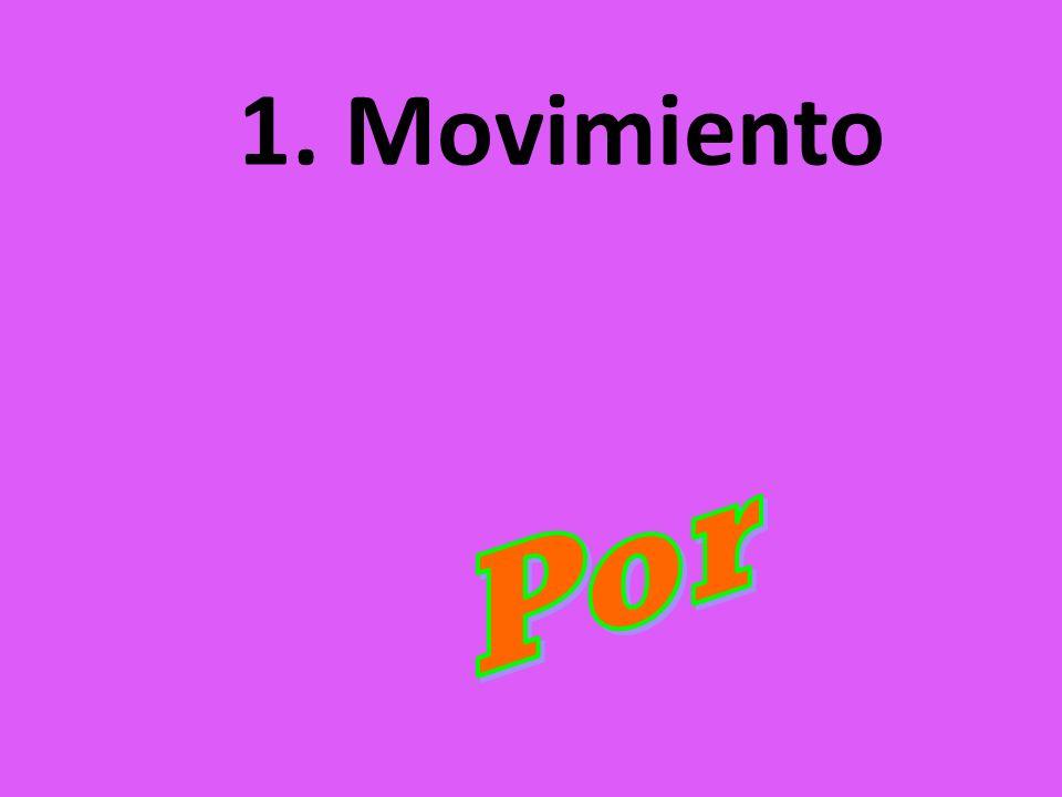 1. Movimiento Por