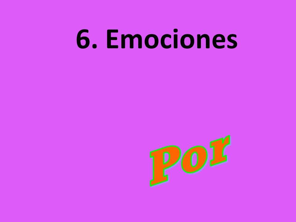 6. Emociones Por
