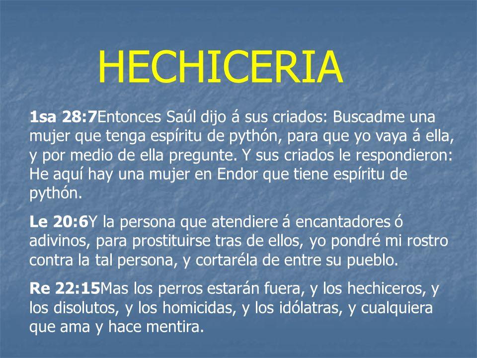 HECHICERIA