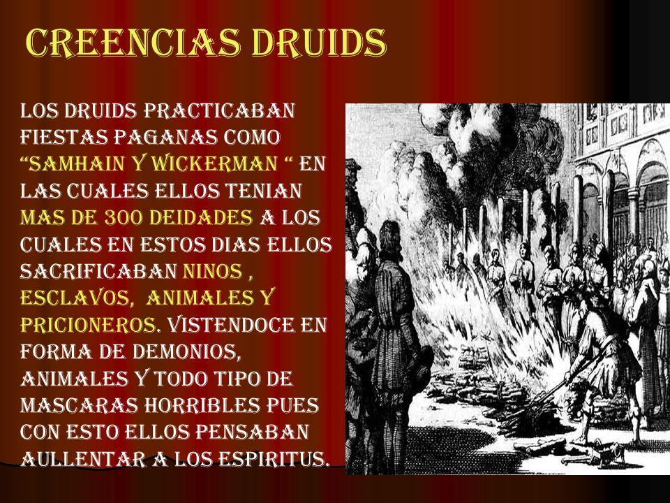 CREENCIAS DRUIDS