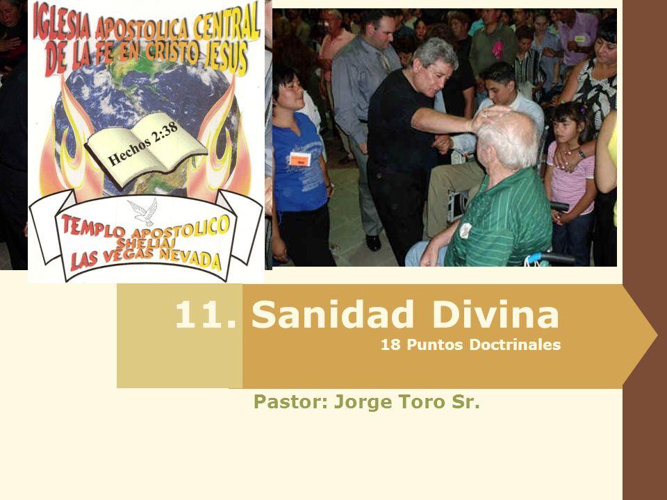 11. Sanidad Divina 18 Puntos Doctrinales