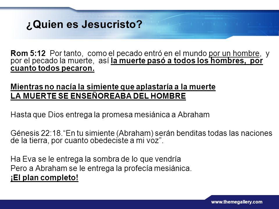 ¿Quien es Jesucristo