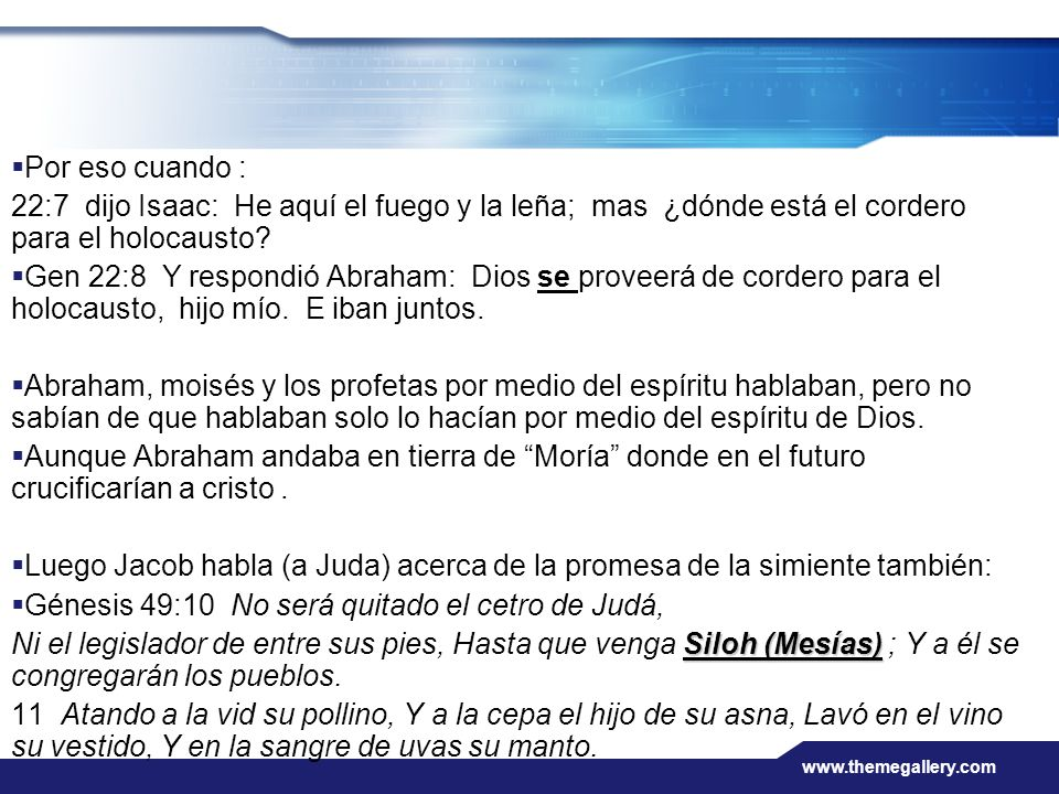 Génesis 49:10 No será quitado el cetro de Judá,
