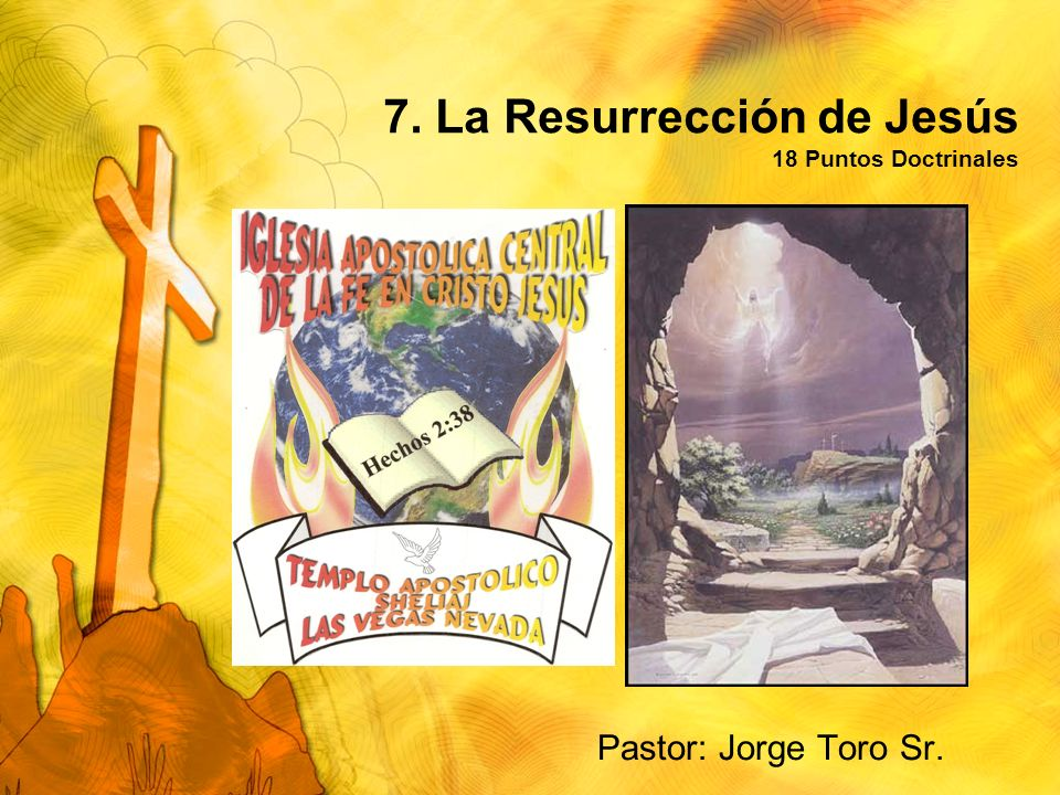 7. La Resurrección de Jesús 18 Puntos Doctrinales