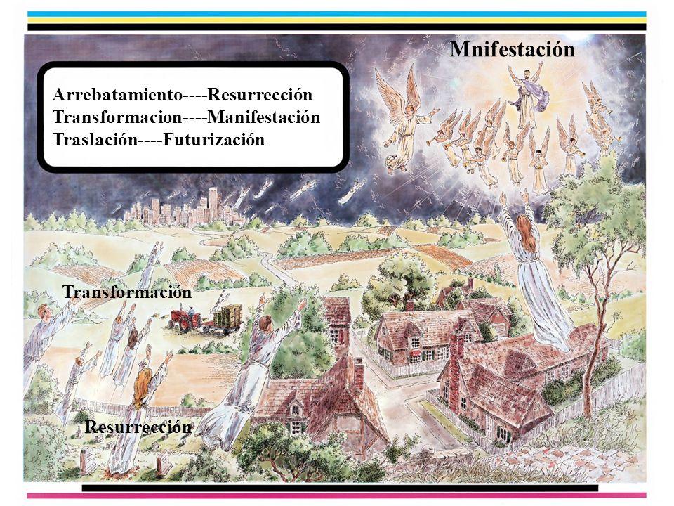 Mnifestación Arrebatamiento----Resurrección