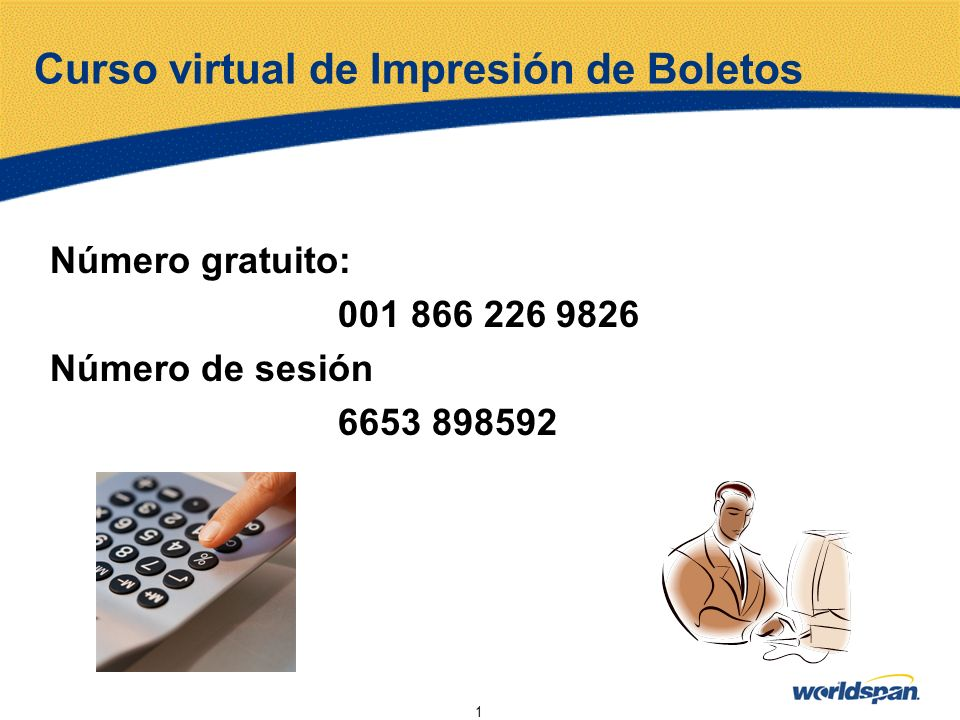 Curso virtual de Impresión de Boletos