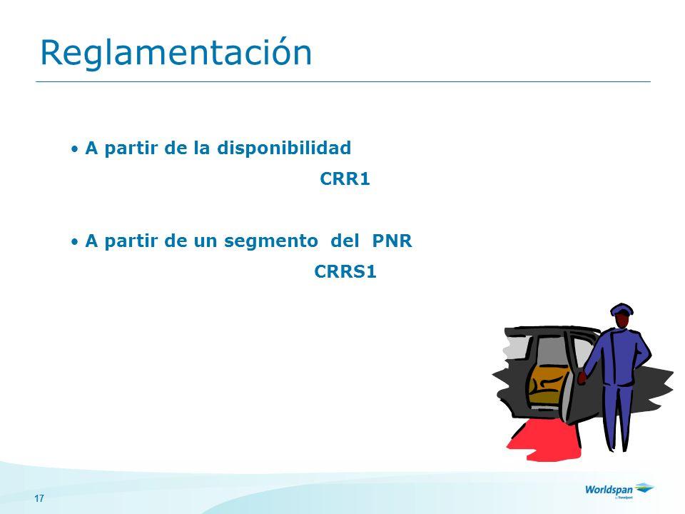 Reglamentación A partir de la disponibilidad CRR1
