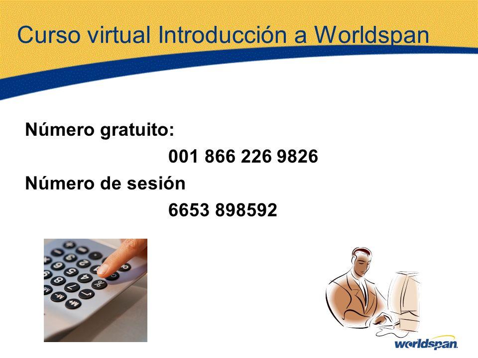 Curso virtual Introducción a Worldspan