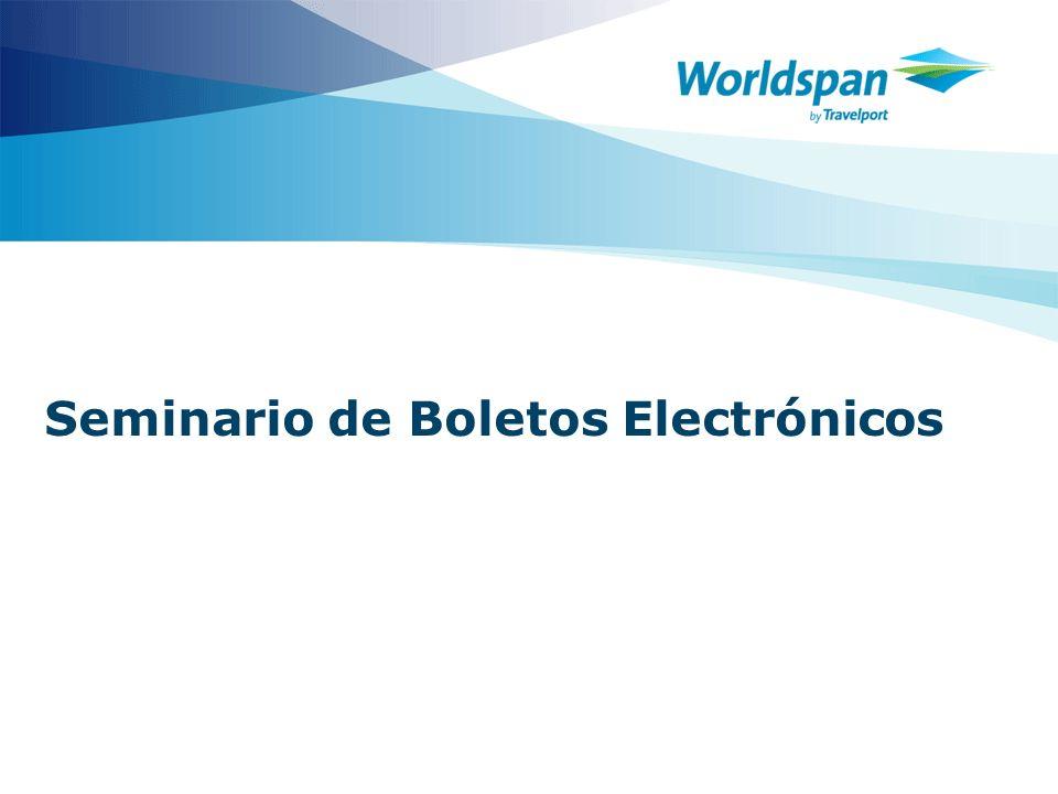 Seminario de Boletos Electrónicos