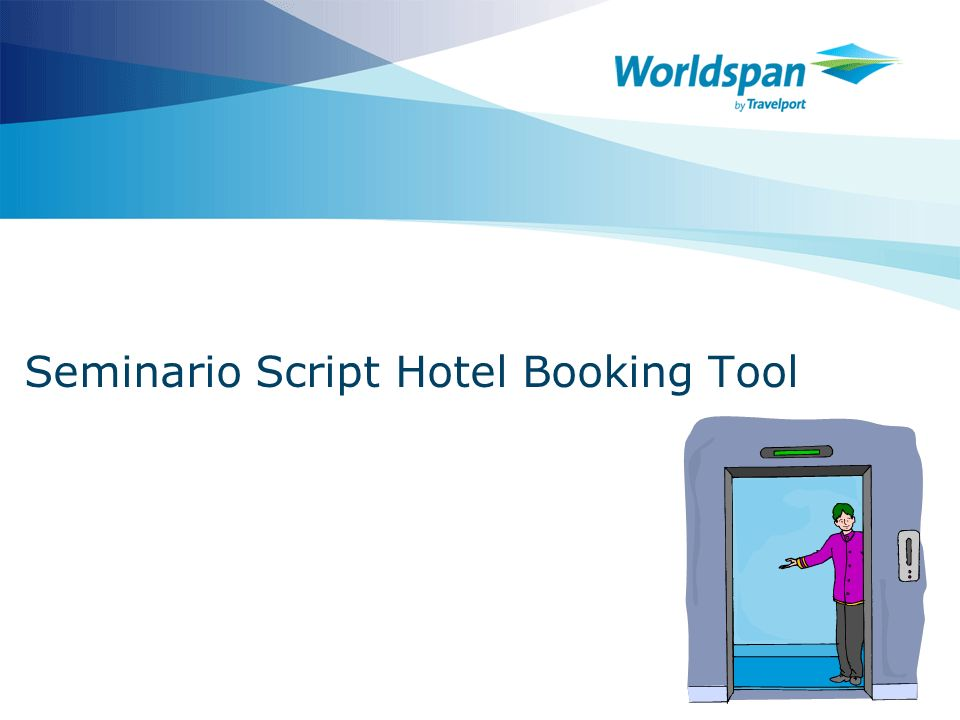 Seminario Script Hotel Booking Tool