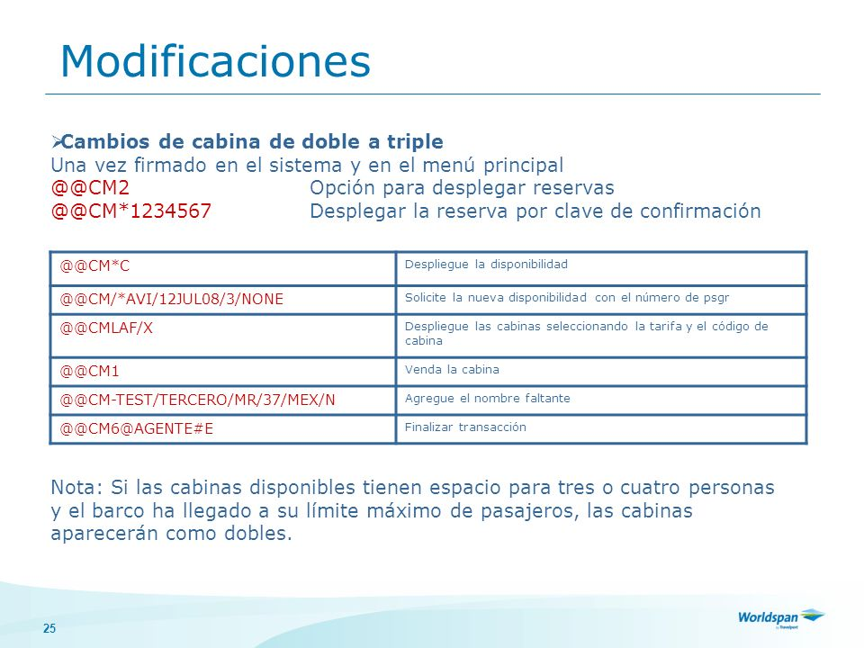 Modificaciones Cambios de cabina de doble a triple