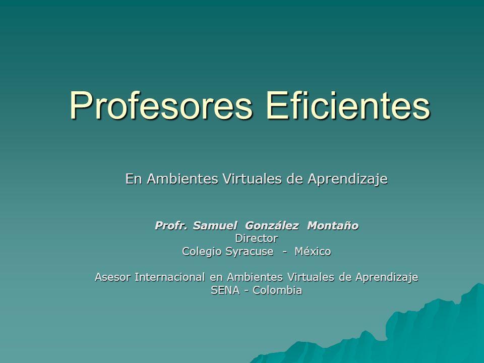 Profesores Eficientes
