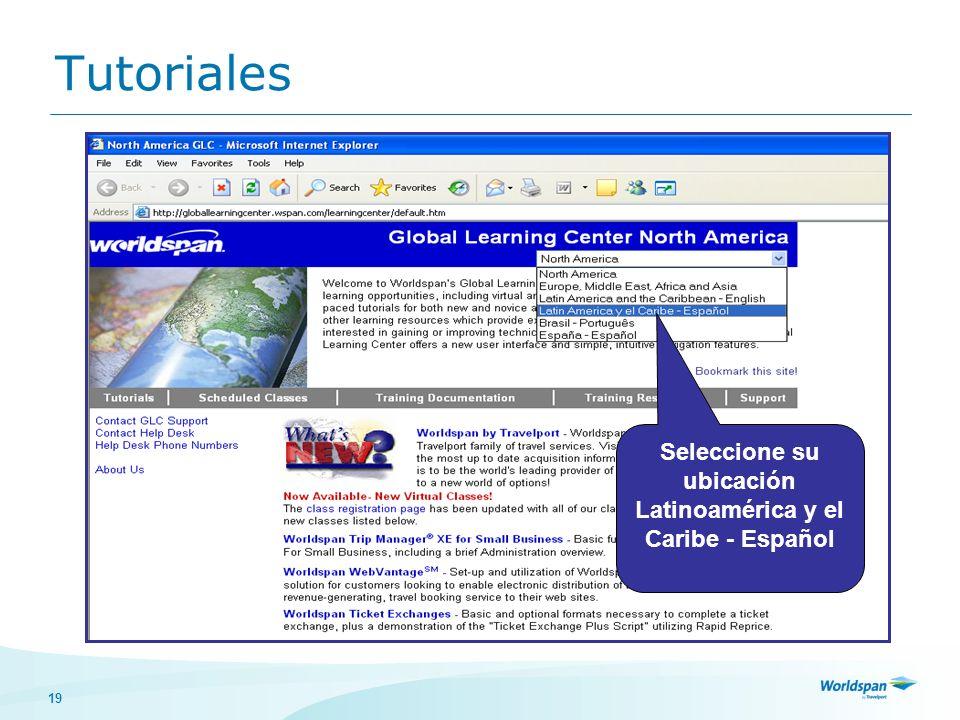 Seleccione su ubicación Latinoamérica y el Caribe - Español