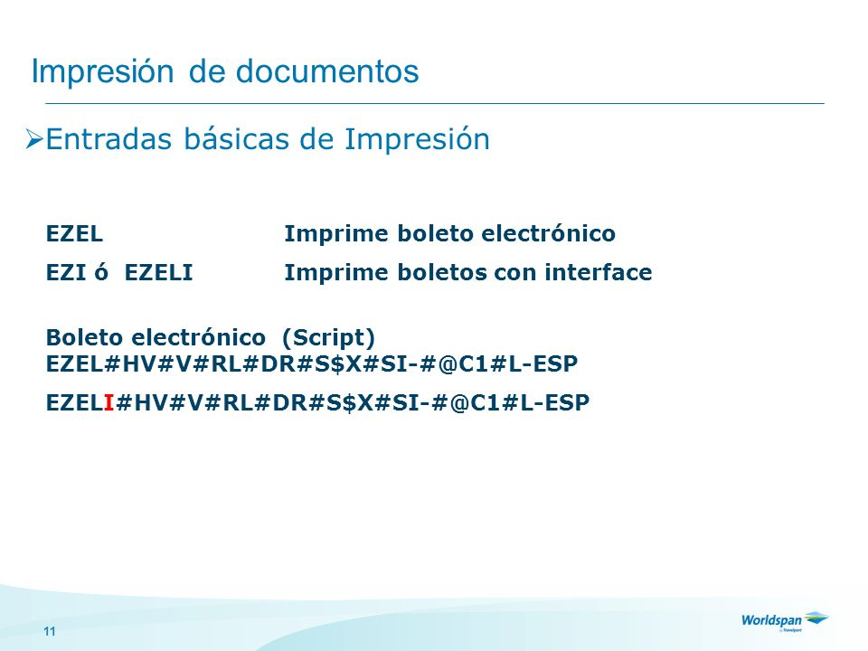 Impresión de documentos