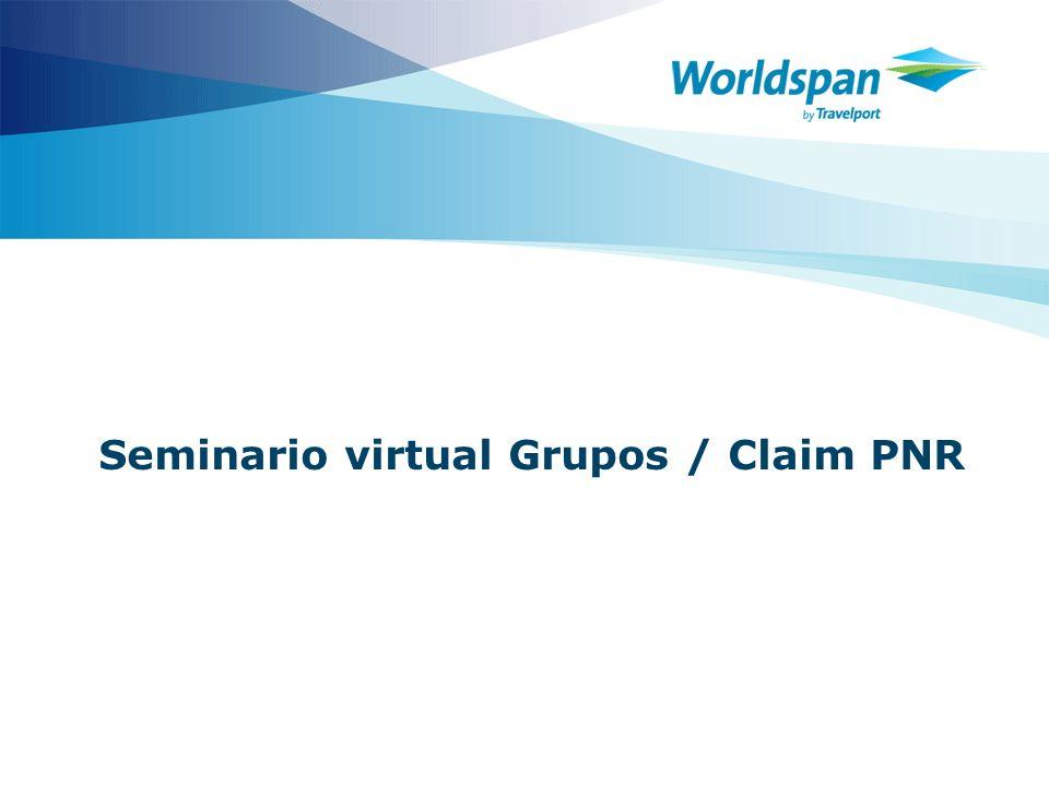 Seminario virtual Grupos / Claim PNR