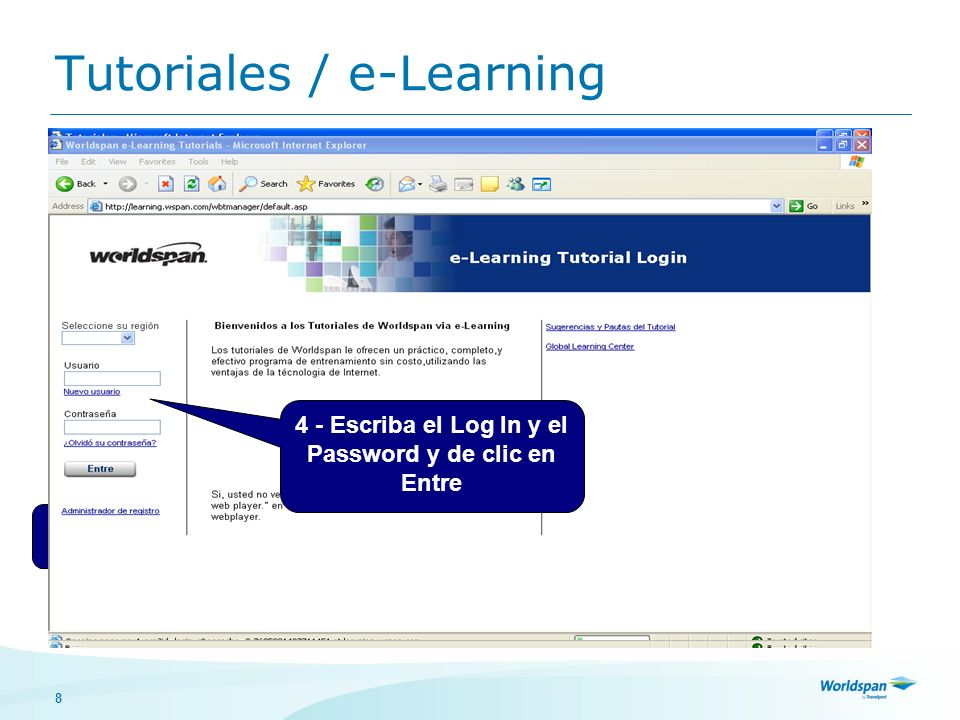 Tutoriales / e-Learning
