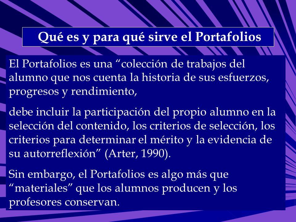 Qué es y para qué sirve el Portafolios
