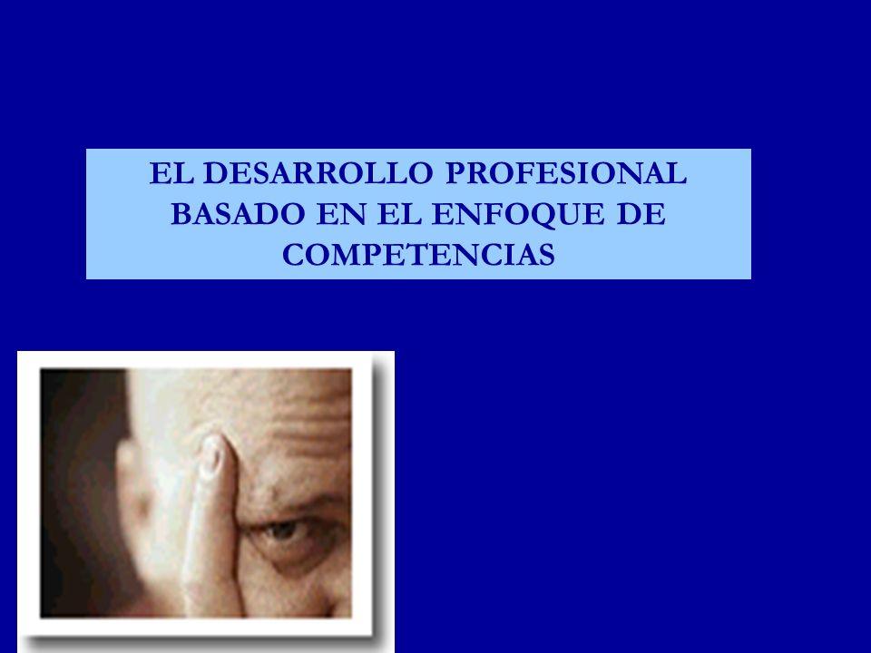 EL DESARROLLO PROFESIONAL BASADO EN EL ENFOQUE DE COMPETENCIAS