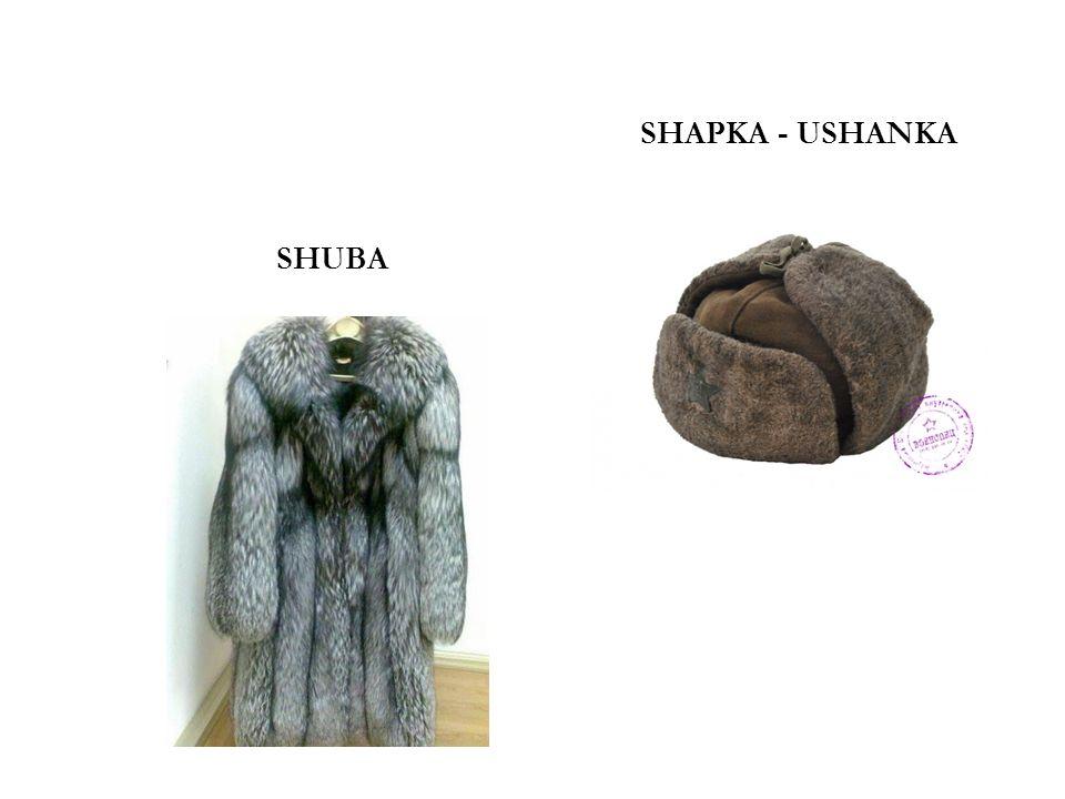 SHAPKA - USHANKA SHUBA