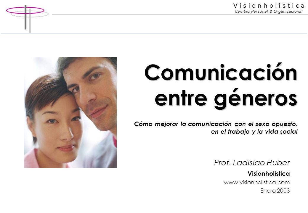 Comunicación entre géneros Cómo mejorar la comunicación con el sexo opuesto, en el trabajo y la vida social