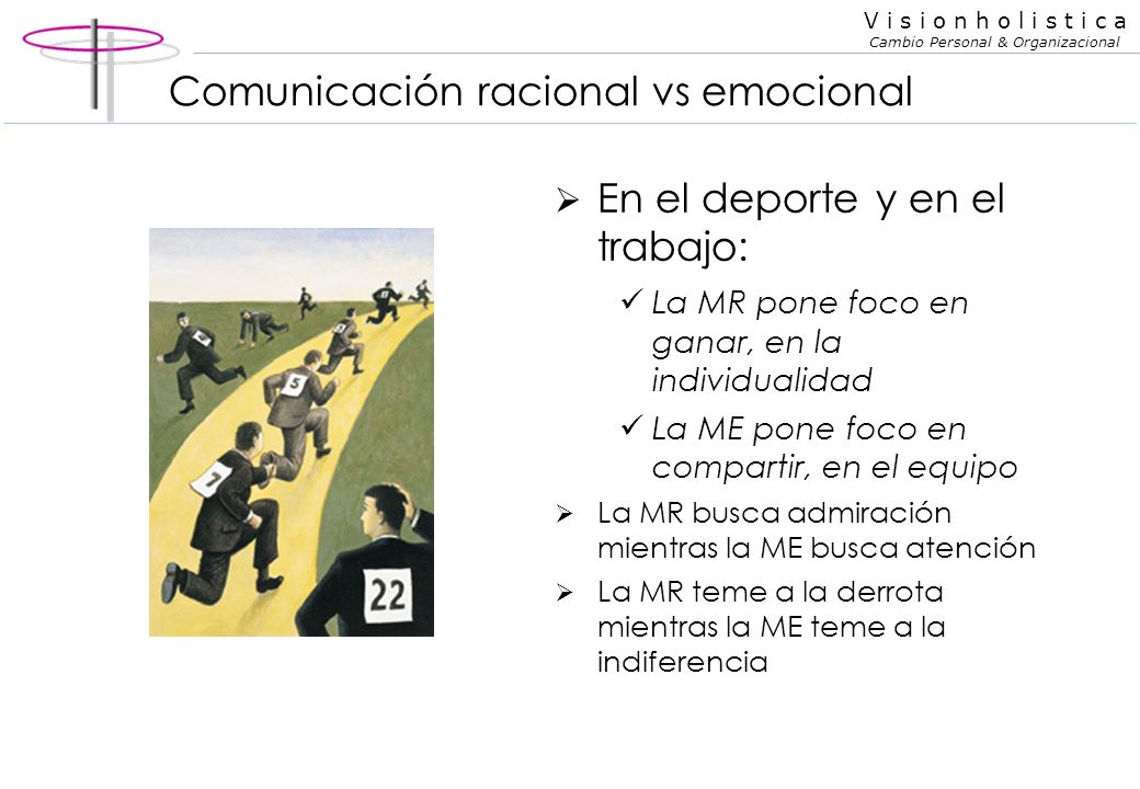 Comunicación racional vs emocional