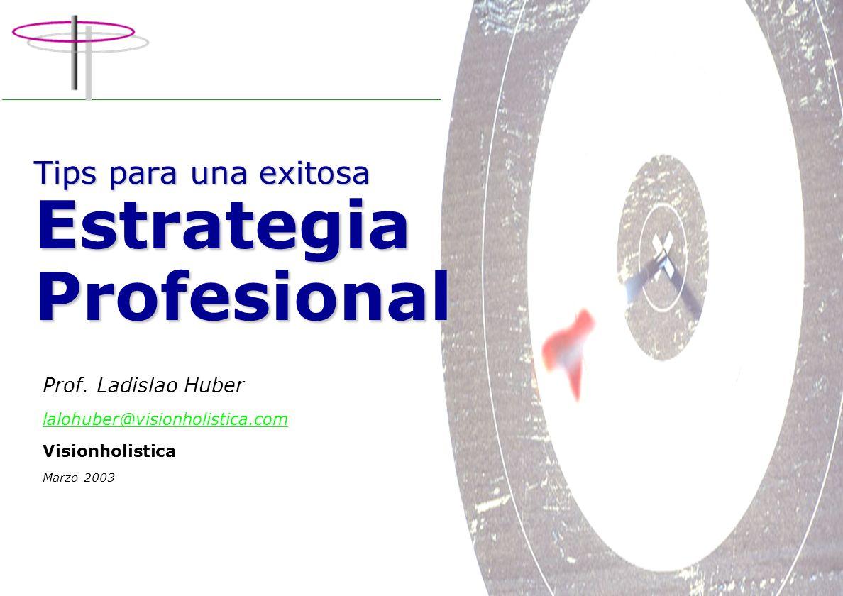 Tips para una exitosa Estrategia Profesional