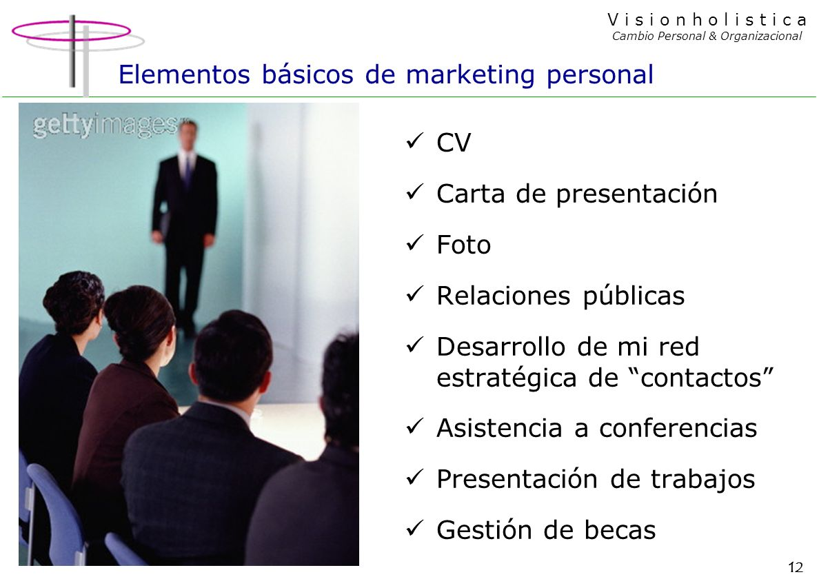 Elementos básicos de marketing personal