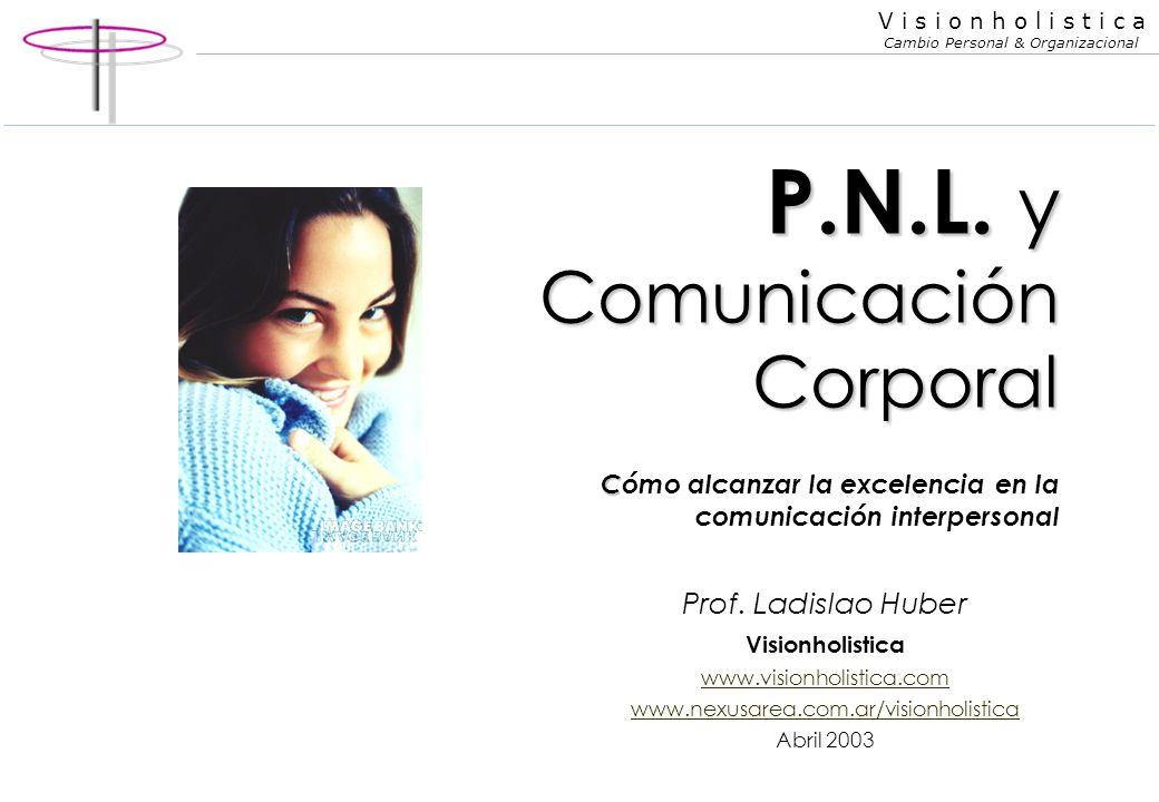 P.N.L. y Comunicación Corporal Cómo alcanzar la excelencia en la comunicación interpersonal