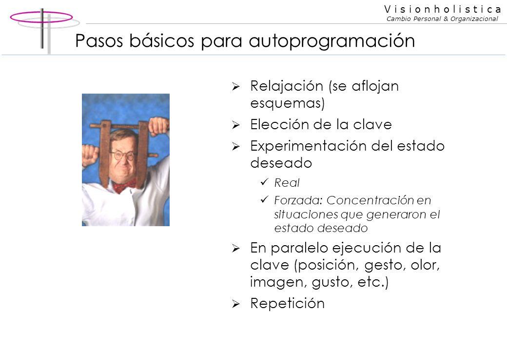 Pasos básicos para autoprogramación
