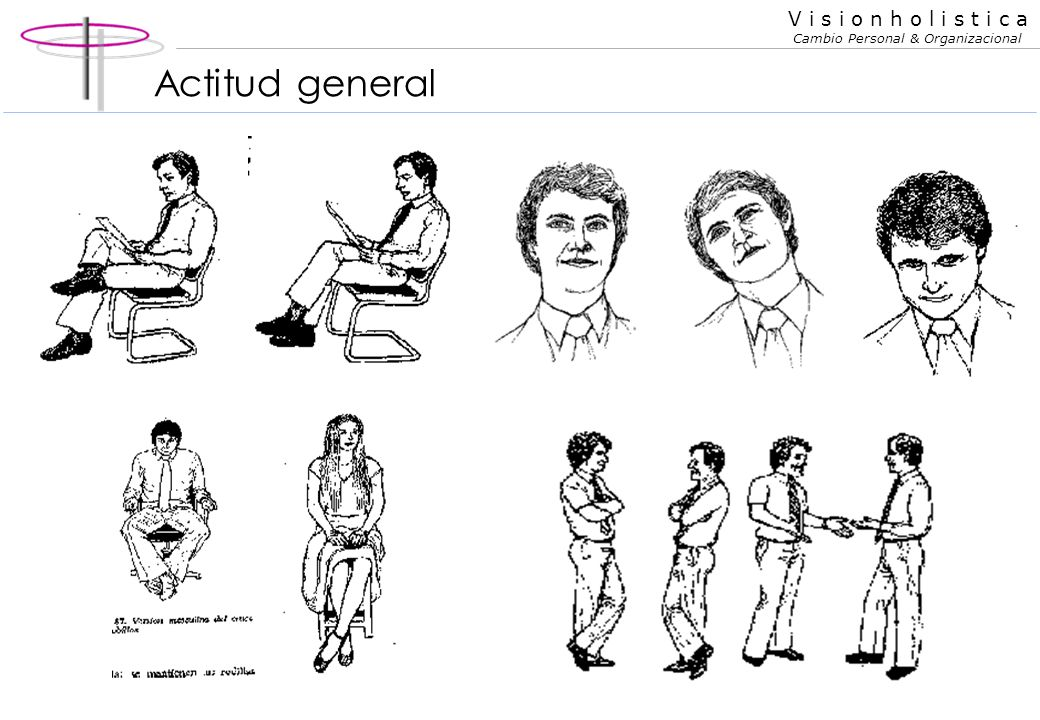 Actitud general