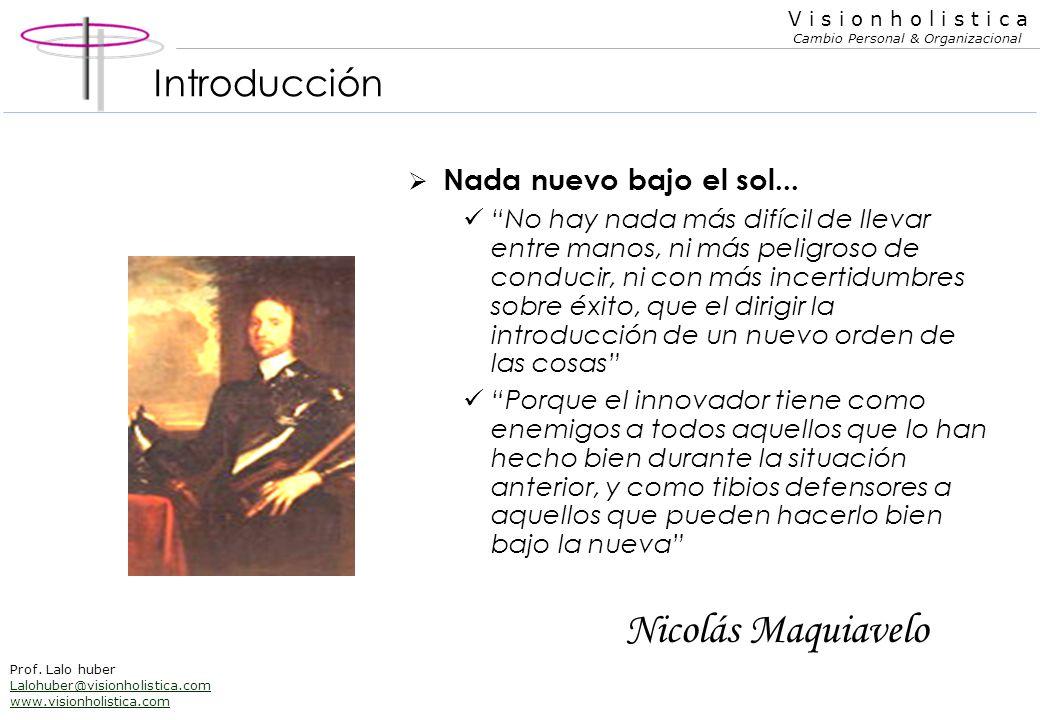 Nicolás Maquiavelo Introducción Nada nuevo bajo el sol...