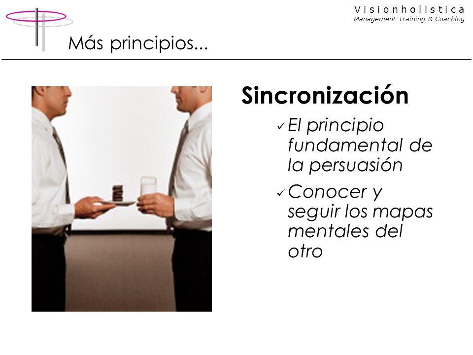 Sincronización Más principios...
