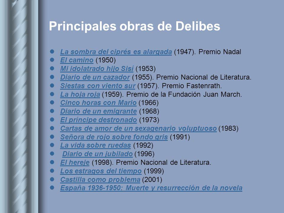 Principales obras de Delibes
