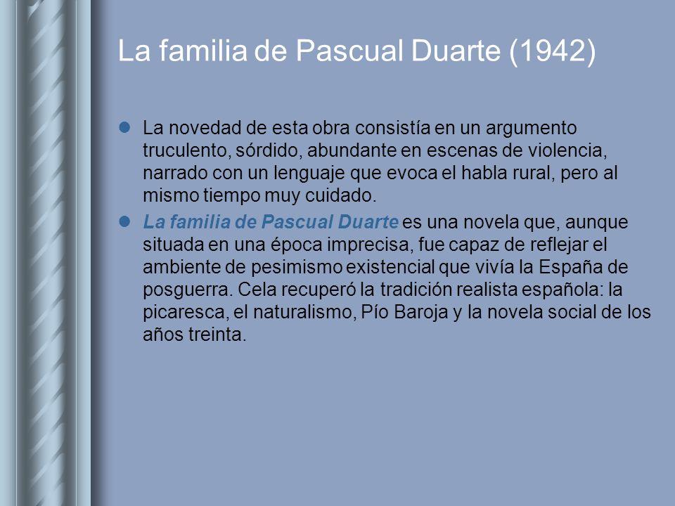 La familia de Pascual Duarte (1942)