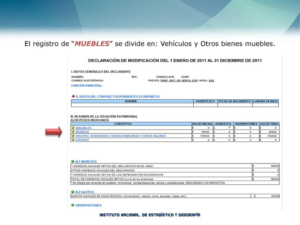 Rgano interno de control ppt descargar for Registro de bienes muebles sevilla