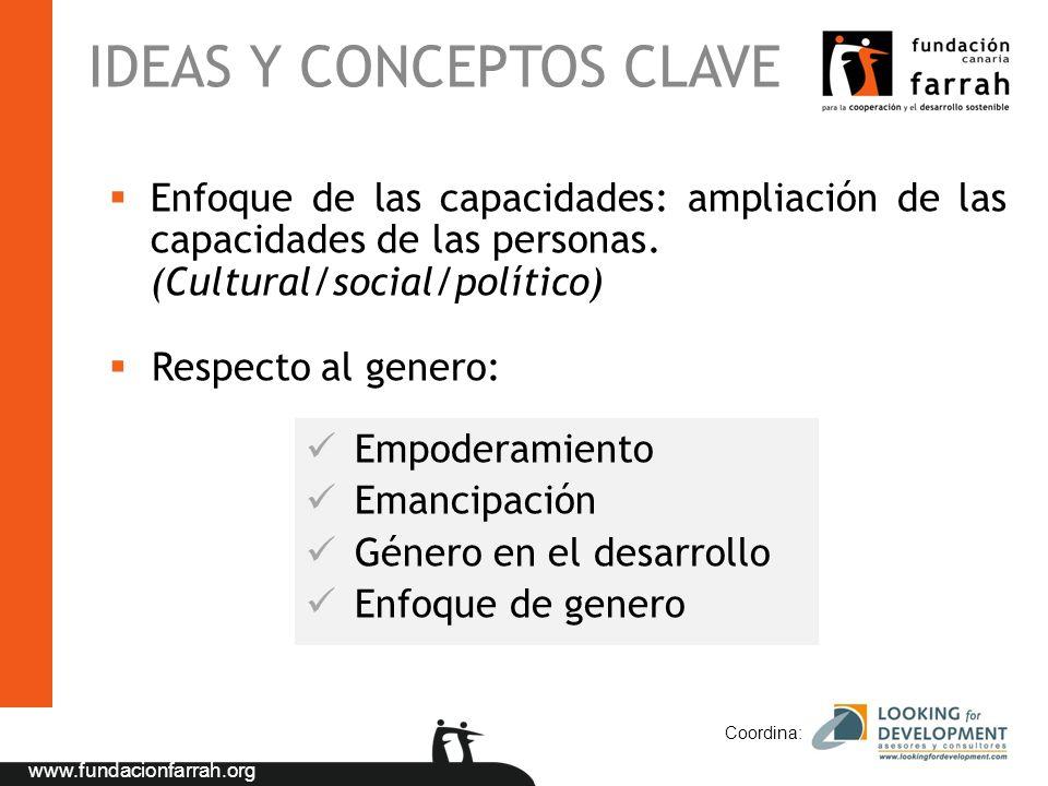 IDEAS Y CONCEPTOS CLAVE