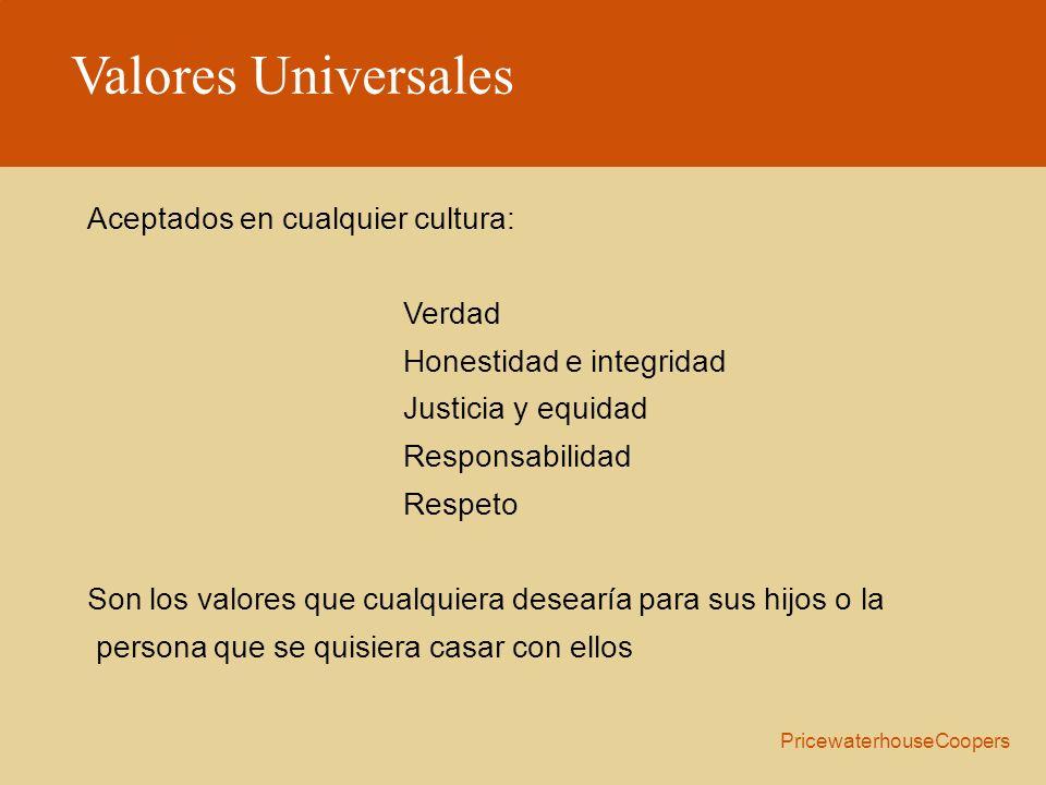 Valores Universales Aceptados en cualquier cultura: Verdad