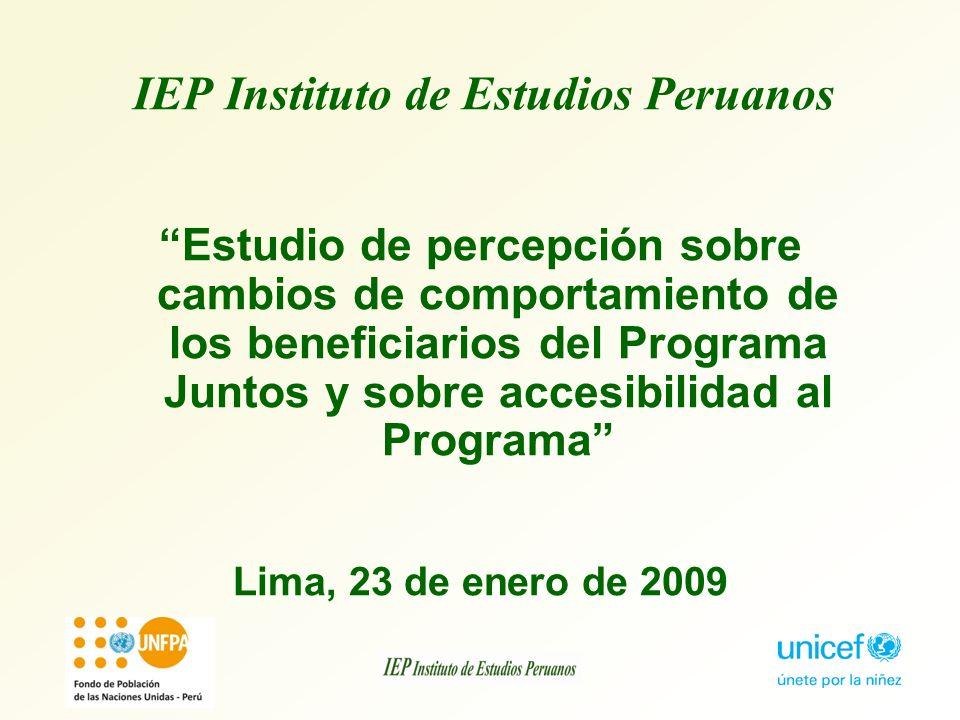 IEP Instituto de Estudios Peruanos