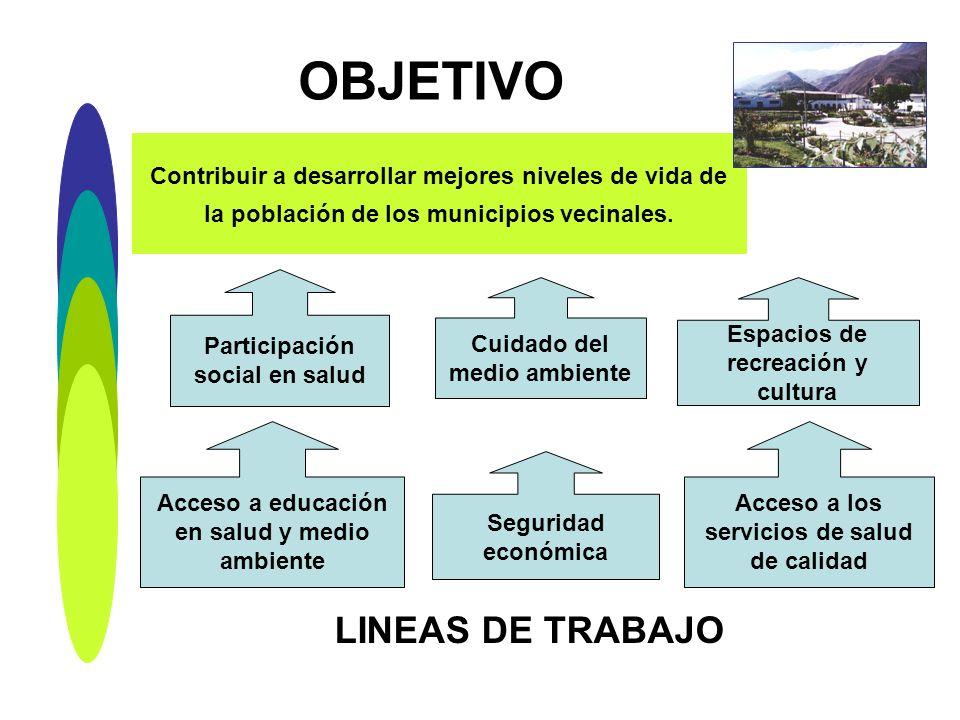 OBJETIVO LINEAS DE TRABAJO