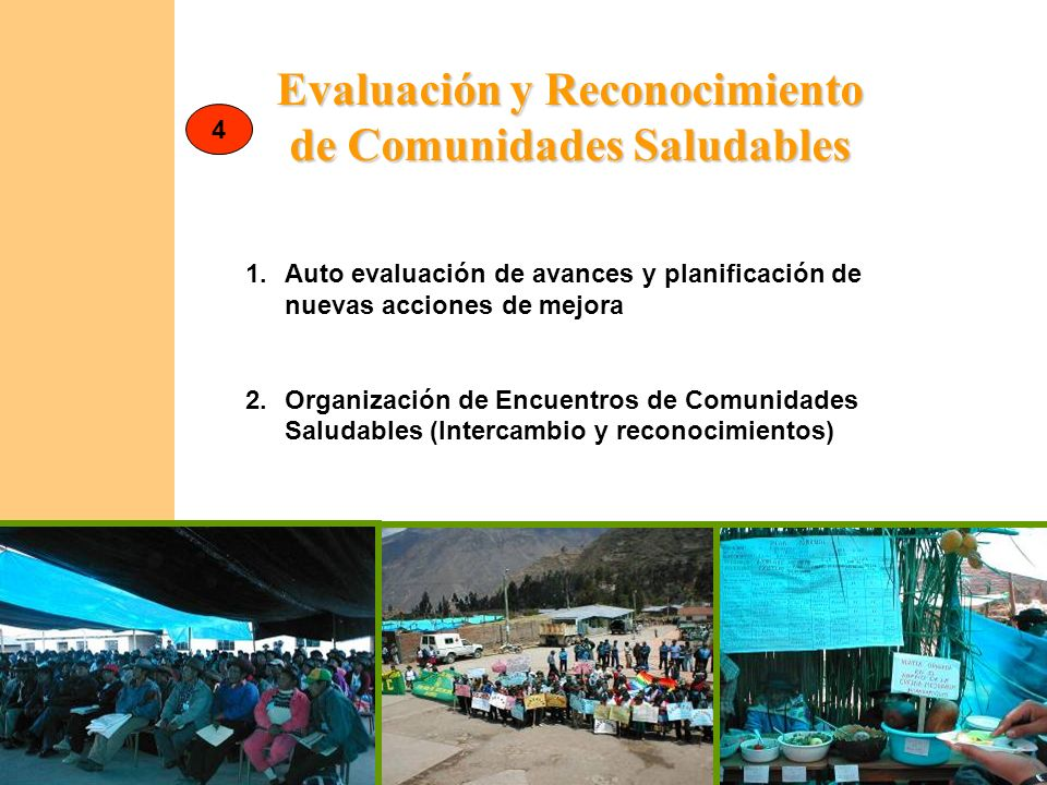 Evaluación y Reconocimiento de Comunidades Saludables