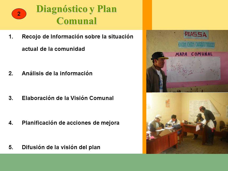 Diagnóstico y Plan Comunal