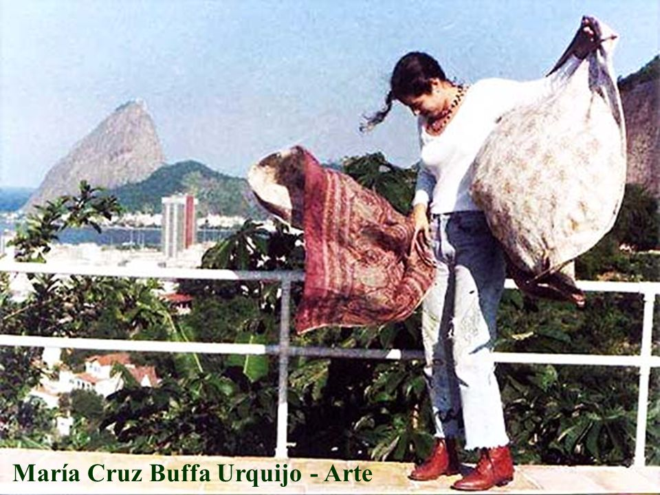 María Cruz Buffa Urquijo - Arte