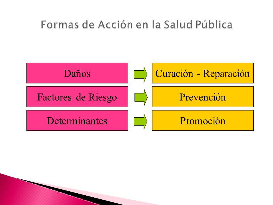 Formas de Acción en la Salud Pública