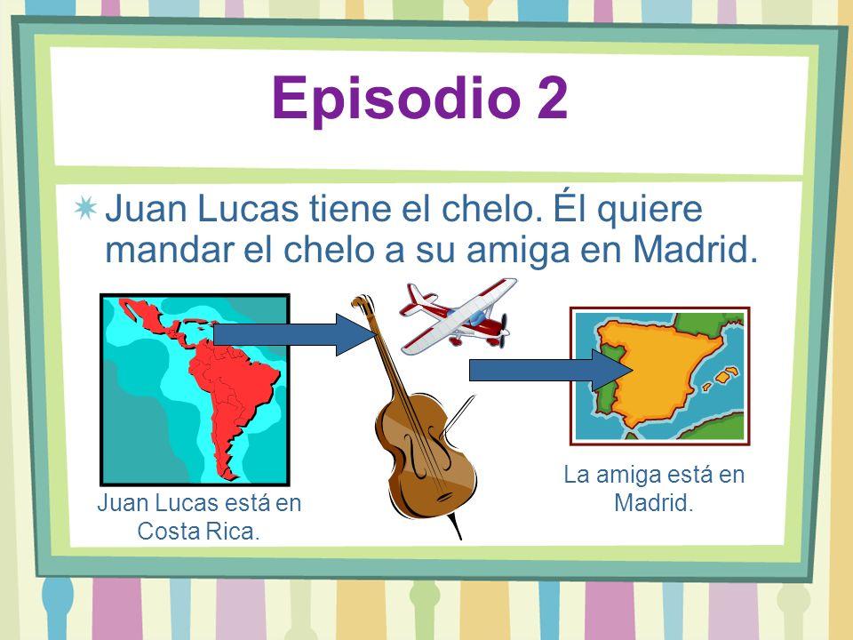 Juan Lucas está en Costa Rica.