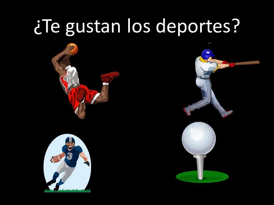 ¿Te gustan los deportes