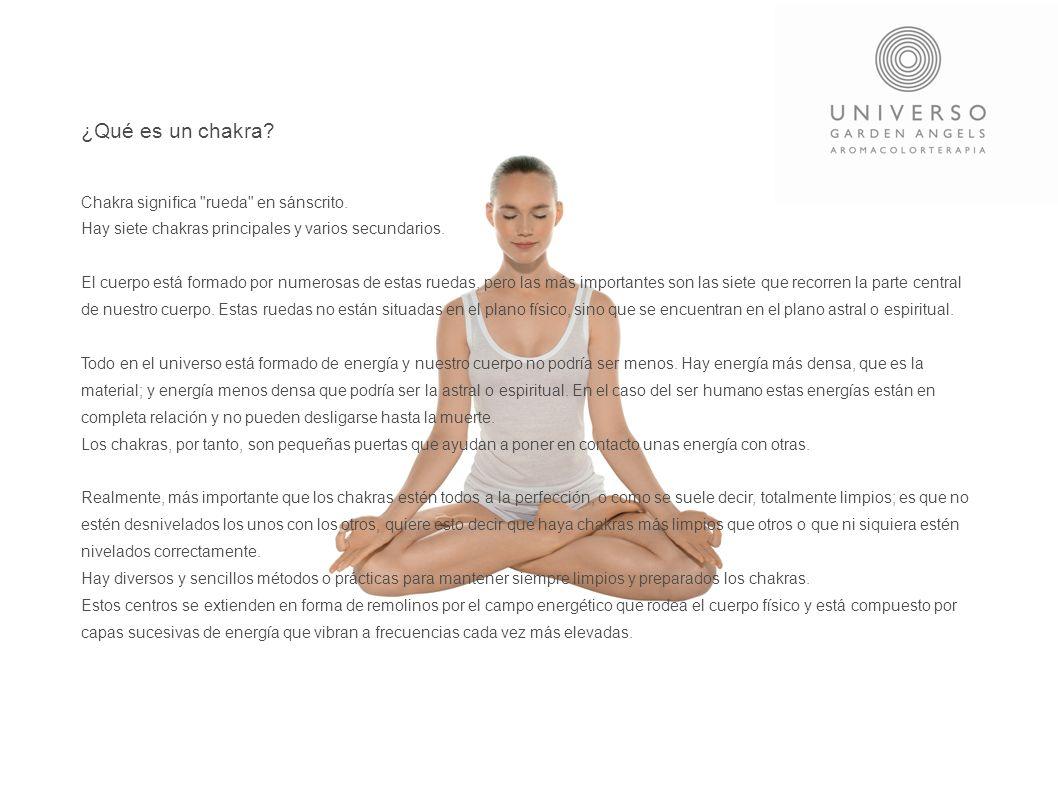 ¿Qué es un chakra Chakra significa rueda en sánscrito.