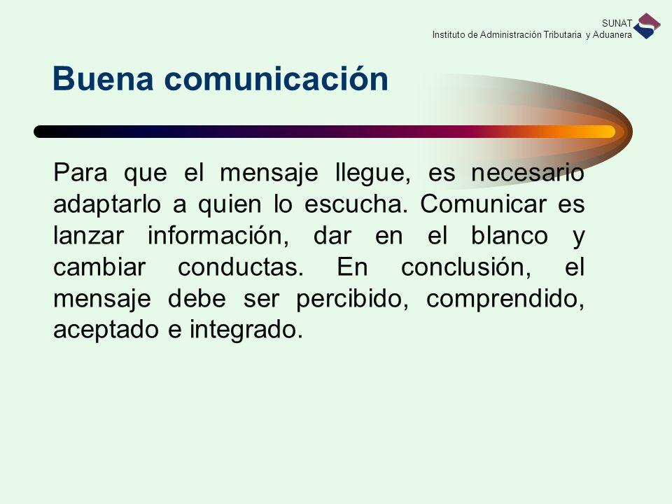 Buena comunicación