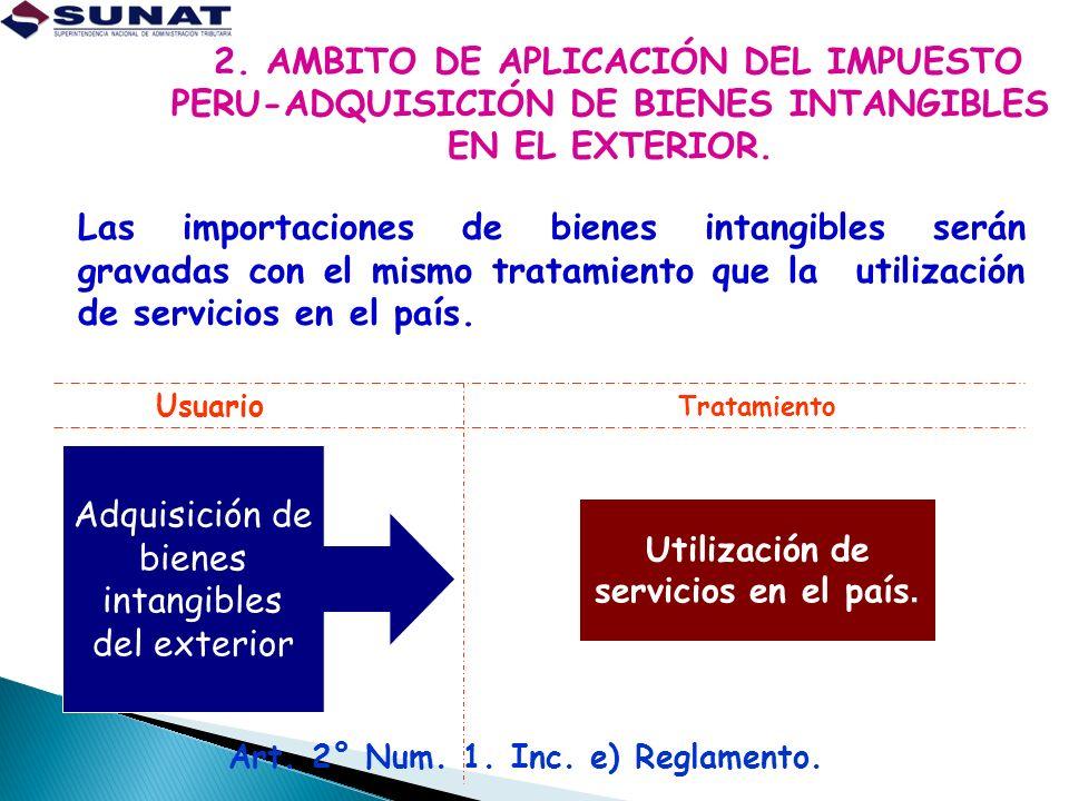 Art. 2° Num. 1. Inc. e) Reglamento.