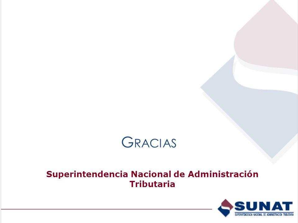 Superintendencia Nacional de Administración Tributaria